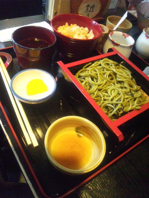 茶蕎麦屋さん